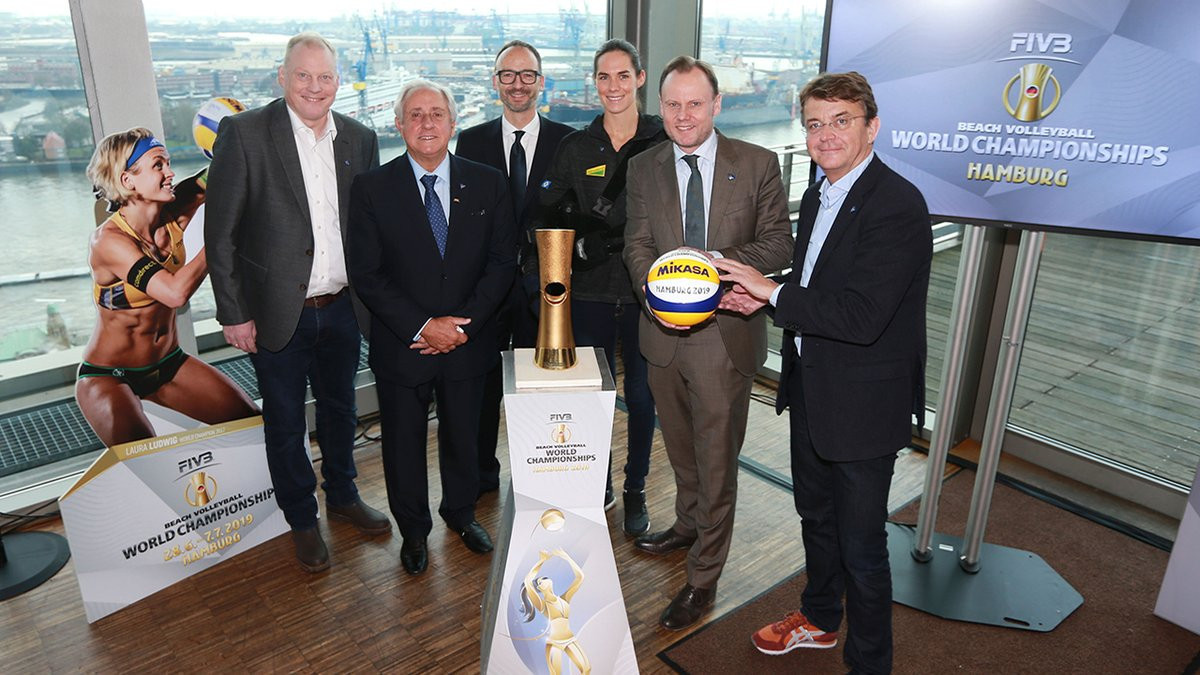 German city Hamburg has been awarded the 2019 edition of the Beach Volleyball World Championships ©German Volleyball