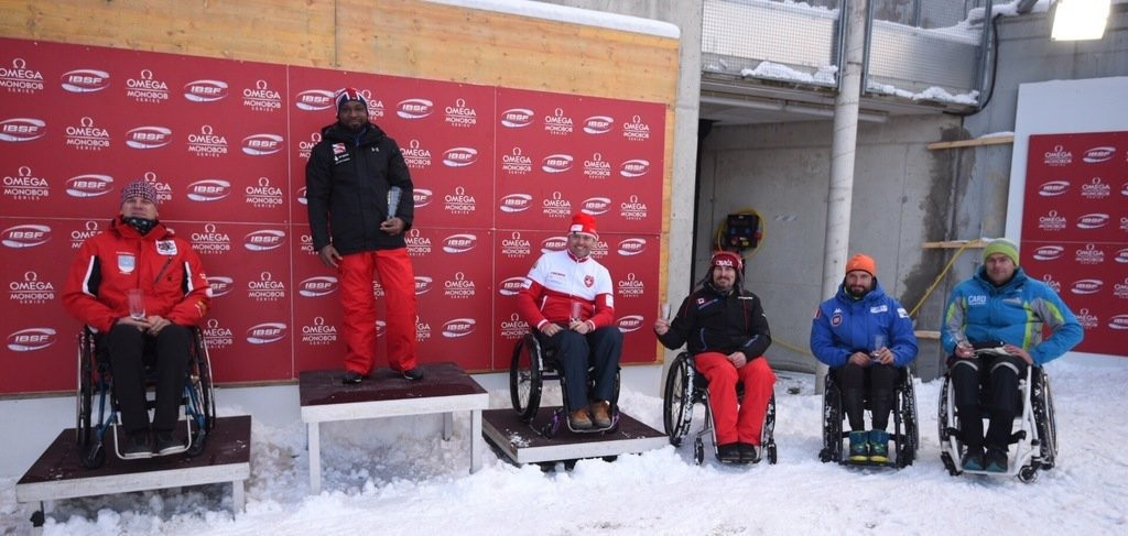 Mapp to defend overall lead at Para Bobsleigh World Cup in Oberhof