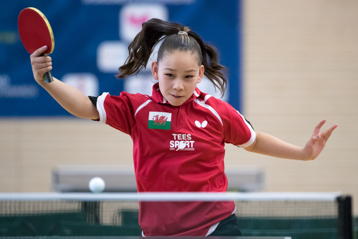Eleven-year-old table tennis player announced in Wales' Gold Coast 2018 squad