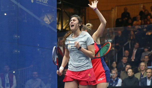 Nour El Sherbini will be looking to make it two PSA titles in a row tomorrow ©PSA