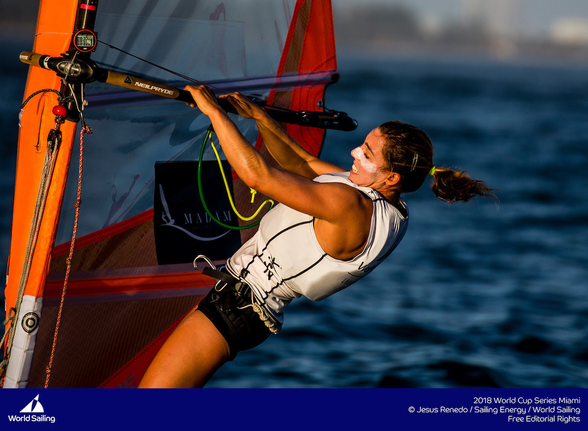 Israel's Geller wins surprise first gold at Sailing World Cup Final in Marseille