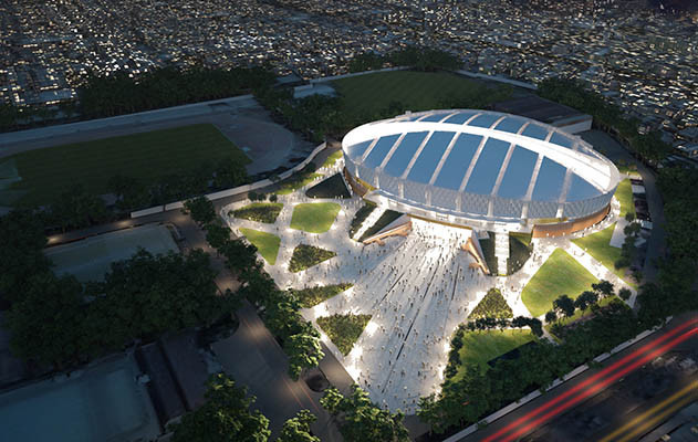 ES Global have won the contract to manage the 2018 Asian Games velodrome ©Cox Architecture