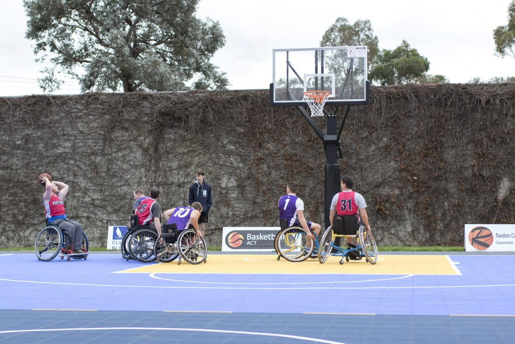 3x3 wheelchair basketball is among the sports hoping to secure a place on the Paris 2024 Paralympic programme ©Basketball ACT