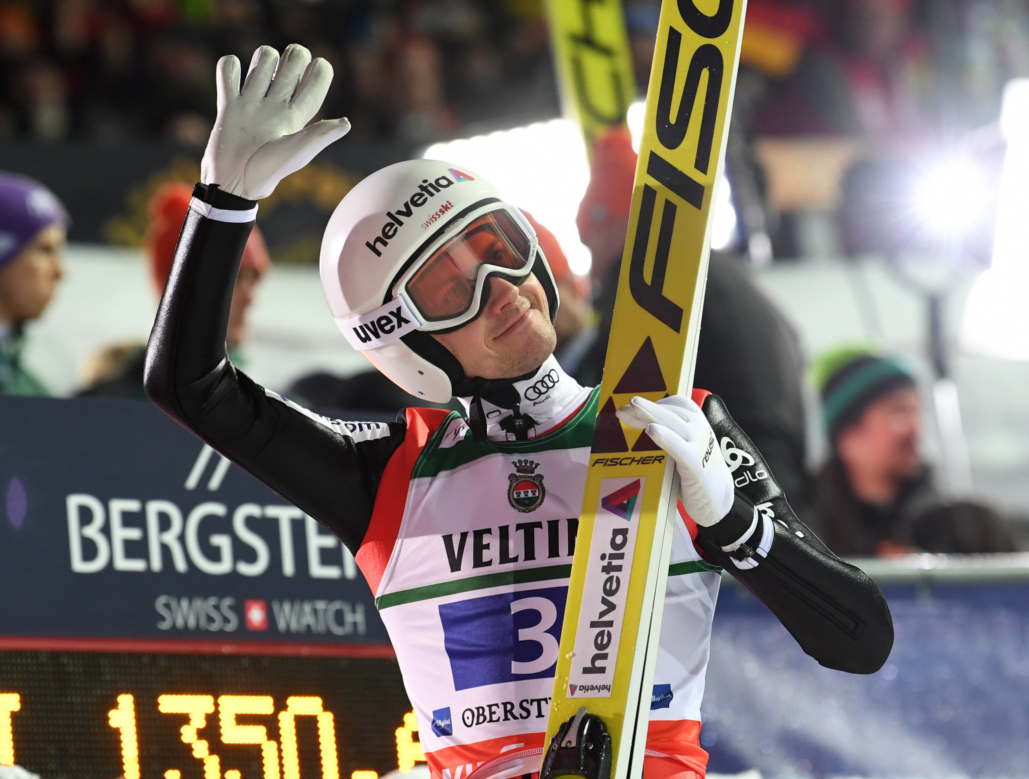 Simon Ammann is poised for a sixth Olympic Games ©Getty Images
