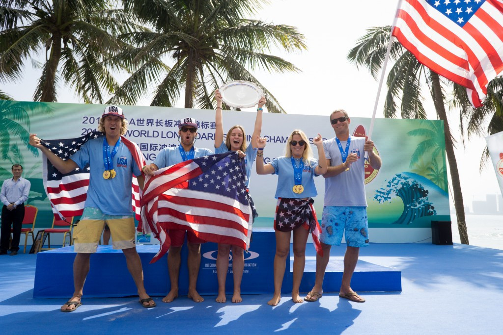 United States claim overall title at 2018 ISA World Longboard Surfing Championship