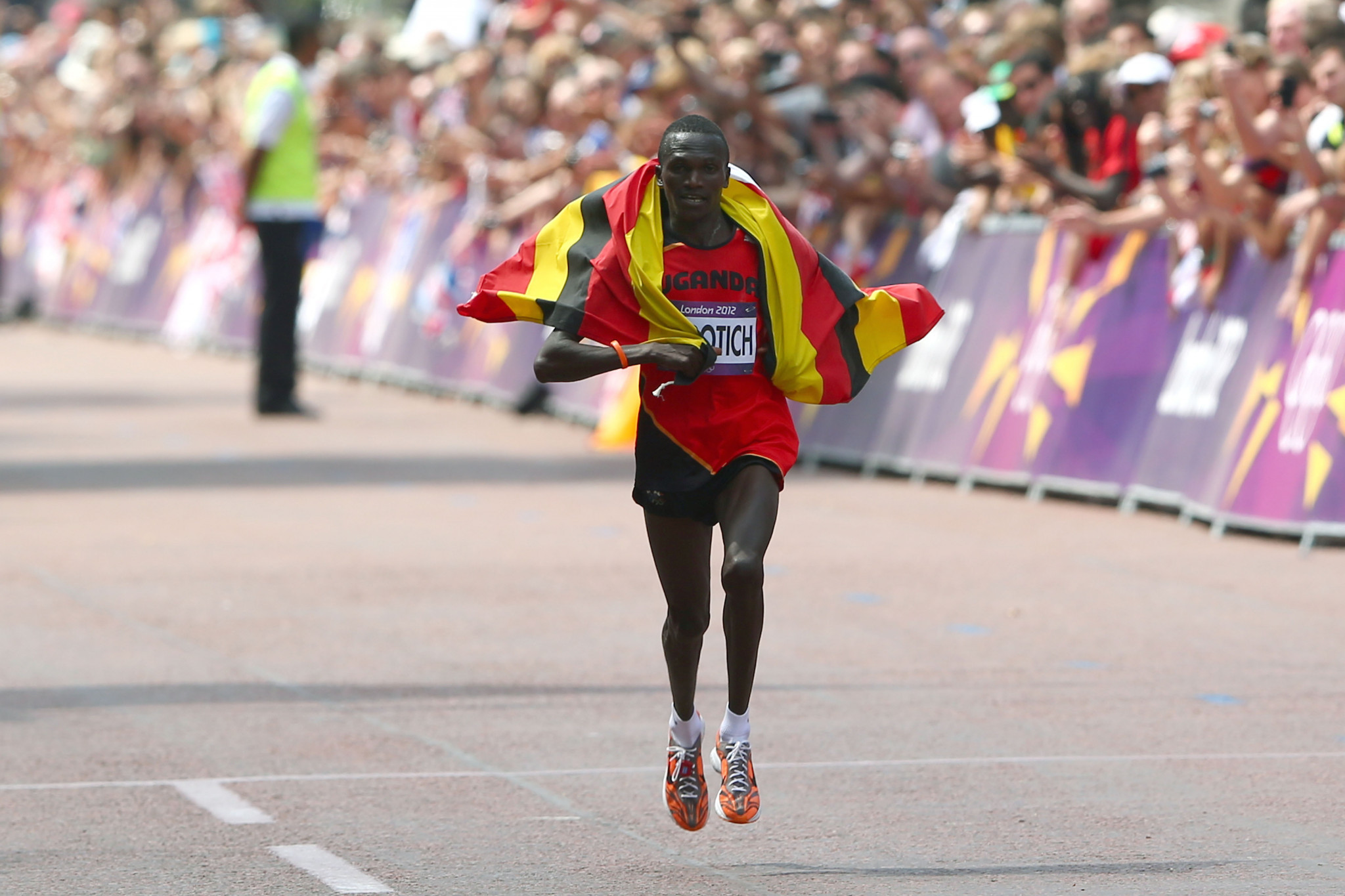 Stephen Kiprotich won Olympic gold at London 2012 ©Getty Images
