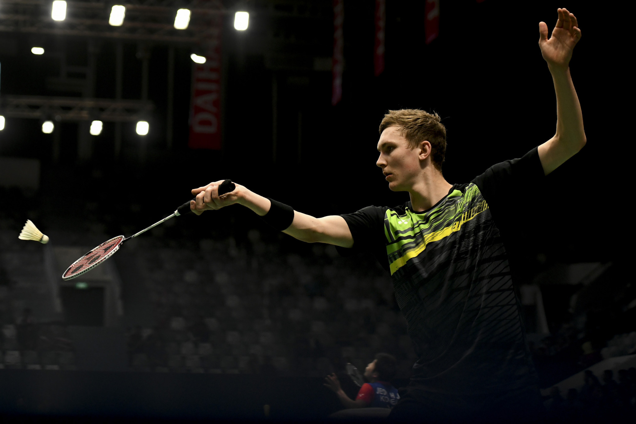 World champion Axelsen withdraws injured at BWF Indonesia Masters