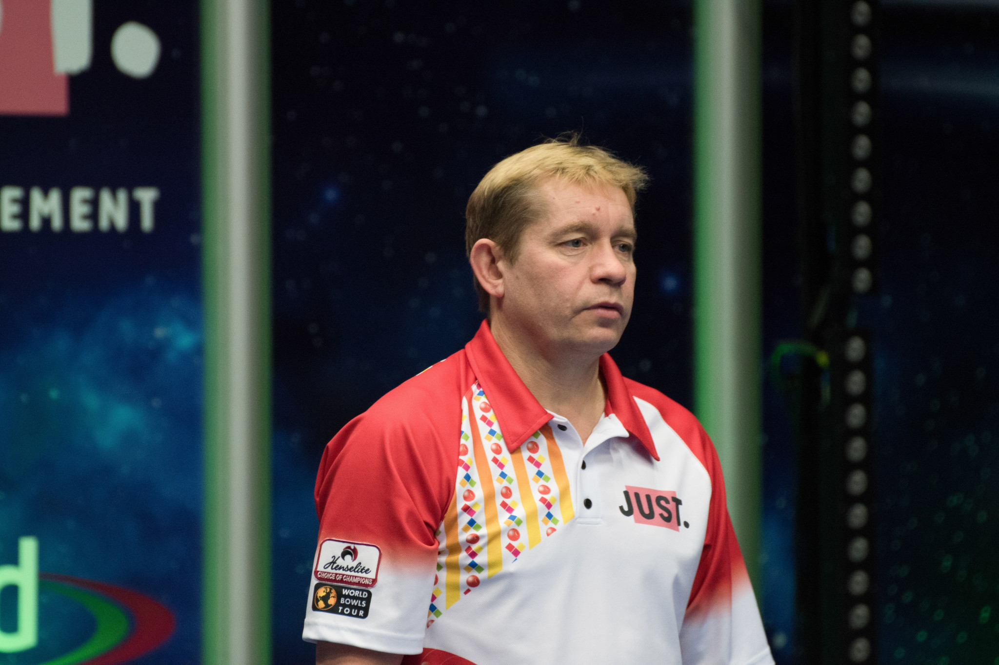 Greg Harlow will be hoping to go one step further at this tournament after finishing second last year ©World Bowls Tour