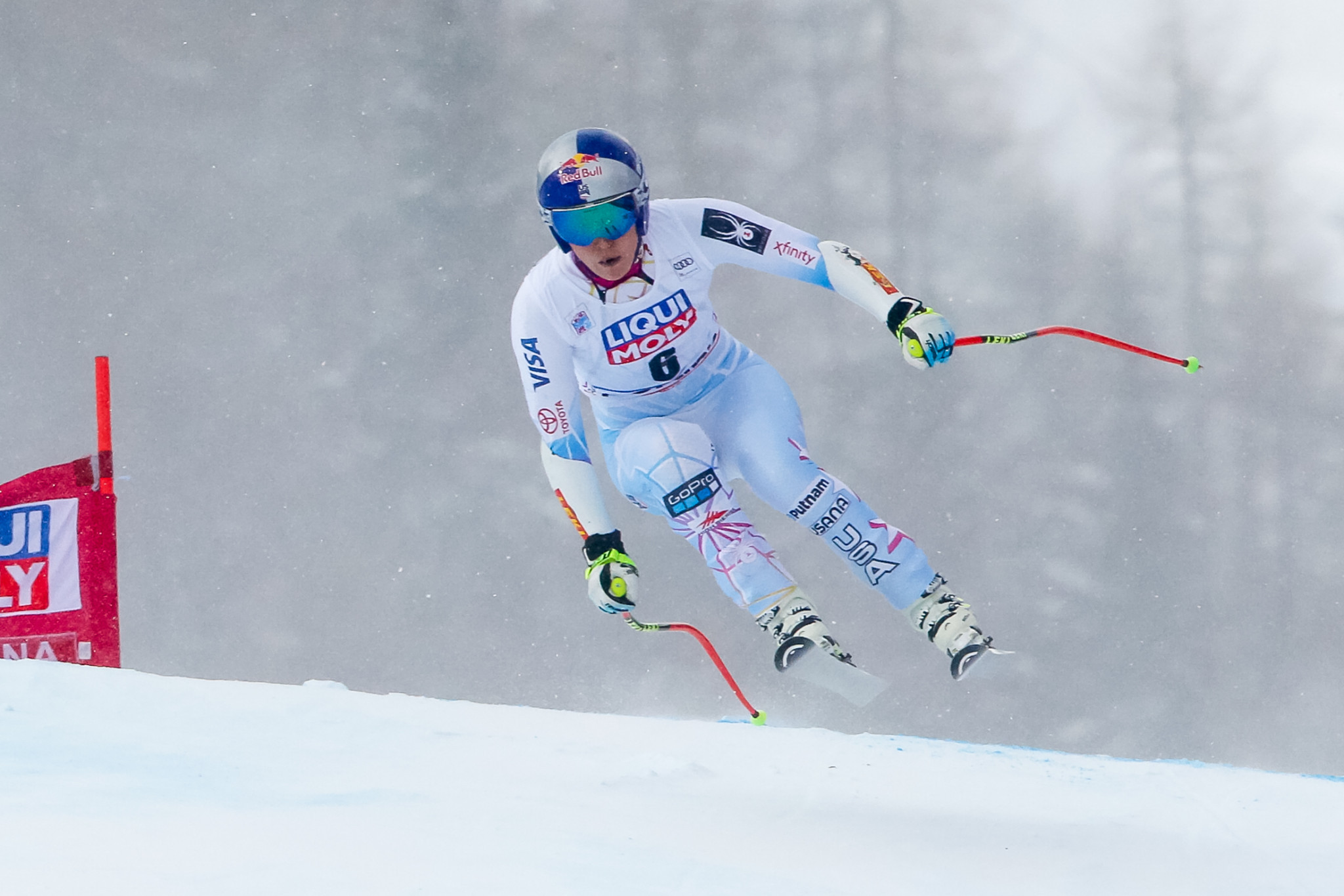 Lindsey Vonn will be in Alpine Combined action in Switzerland ©Getty Images