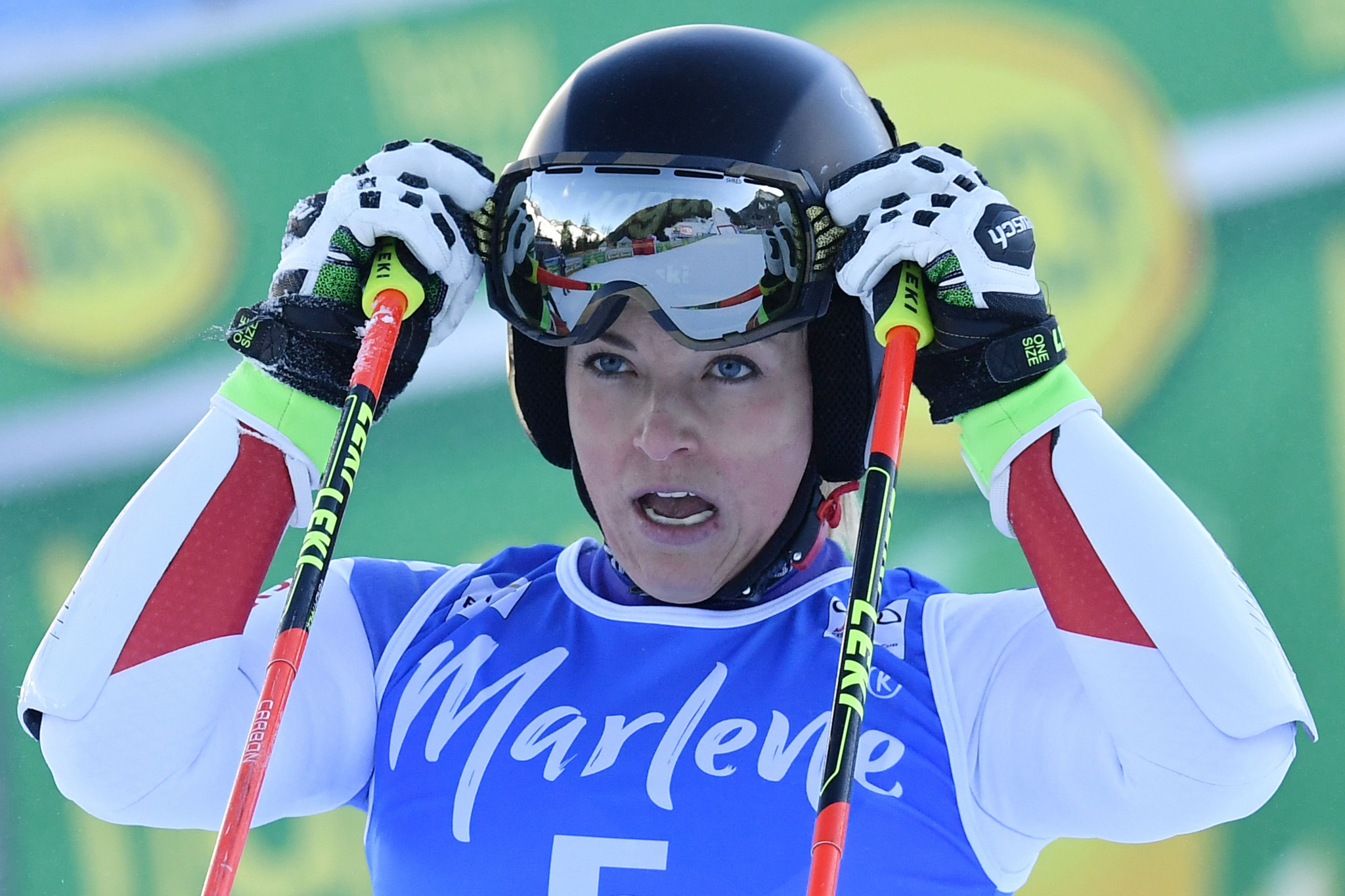 Switzerland's Lara Gut will also be competing on home snow ©Getty Images