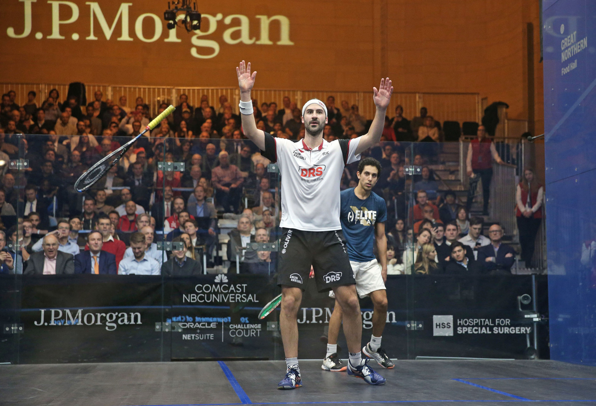 Rösner and El Sherbini claim PSA Tournament of Champions titles