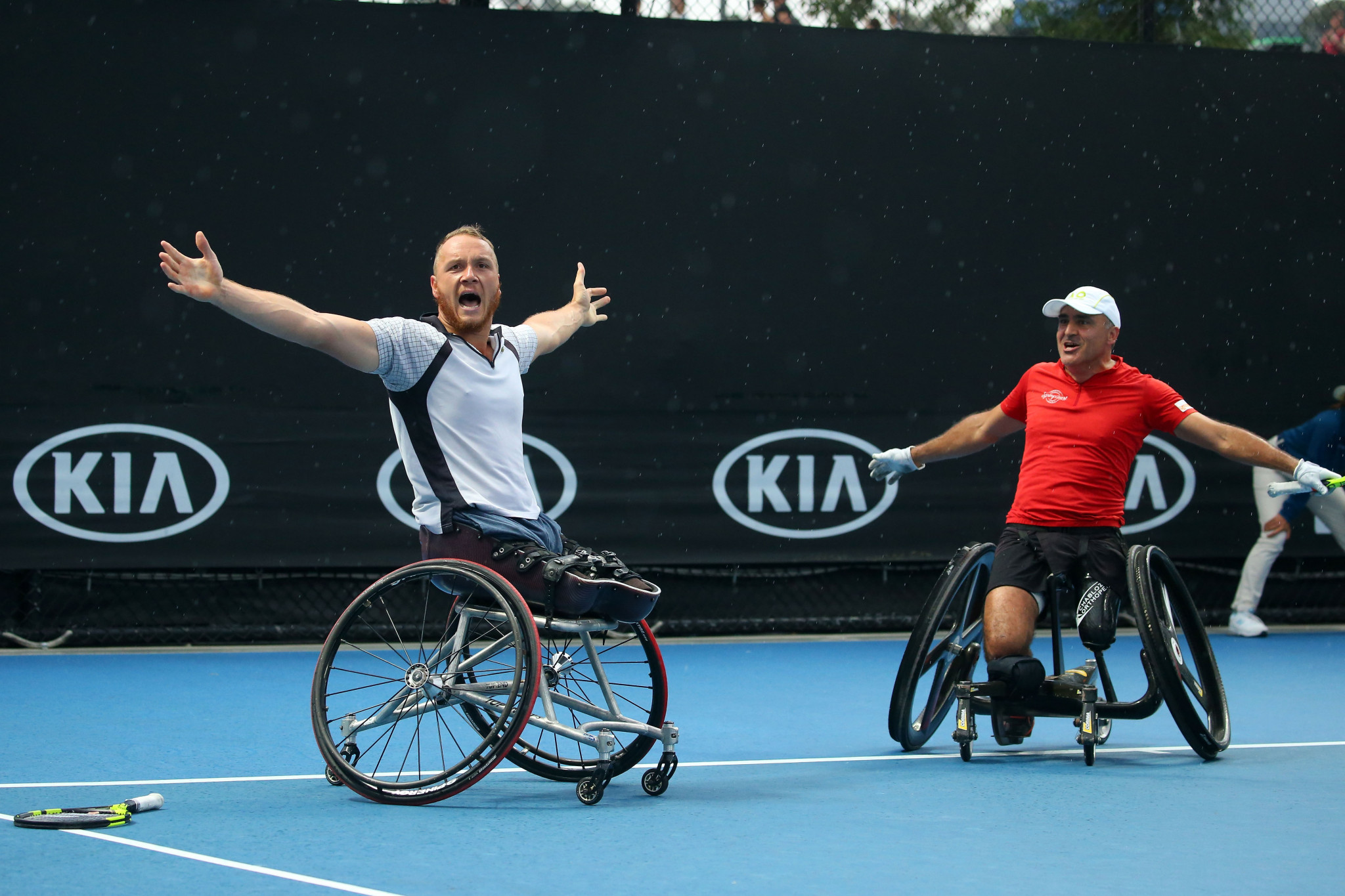 Houdet and Peifer secure men's wheelchair doubles crown at Australian Open
