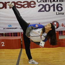 Adalis Munoz: Dreaming of an Olympic Poomsae routine
