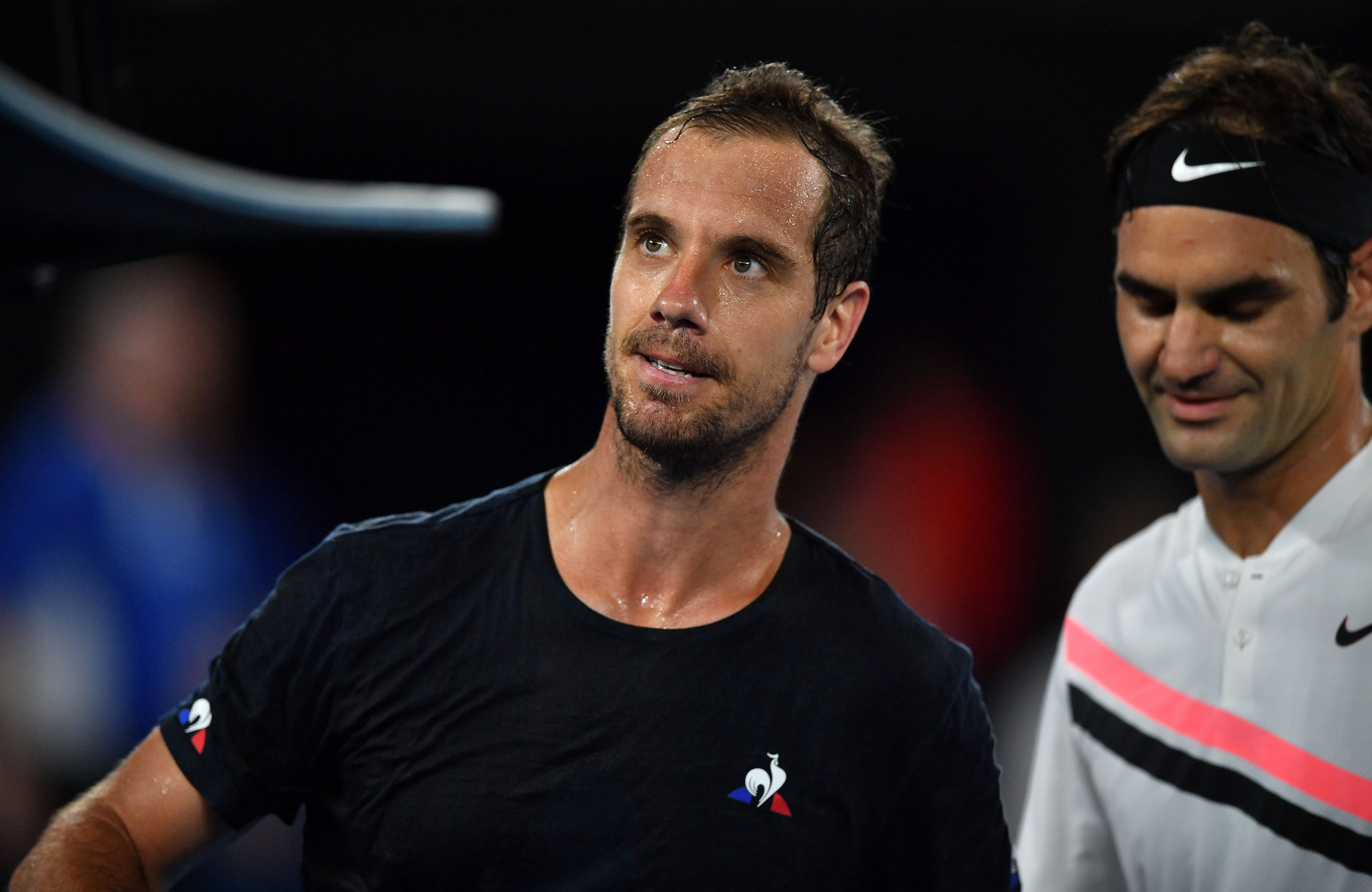 France's tennis player Richard Gasquet was also involved in doping kissing case ©Getty Images