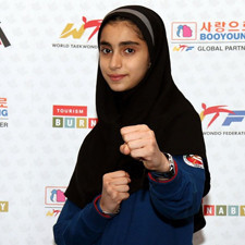 Stars of Tomorrow: Iran's Mobina Nejad Katesari