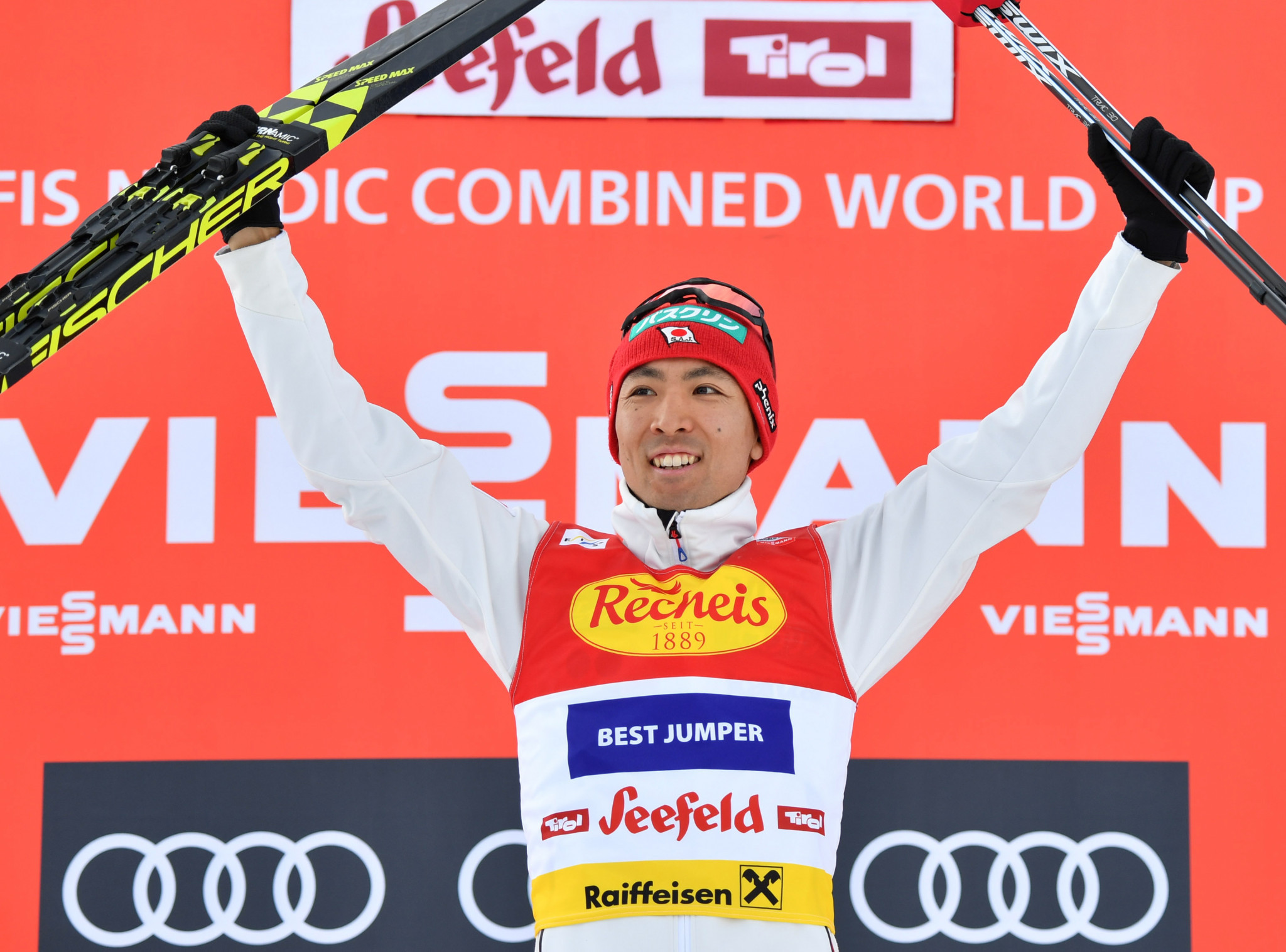Watabe wins opening Seefeld Triple leg at Nordic Combined World Cup