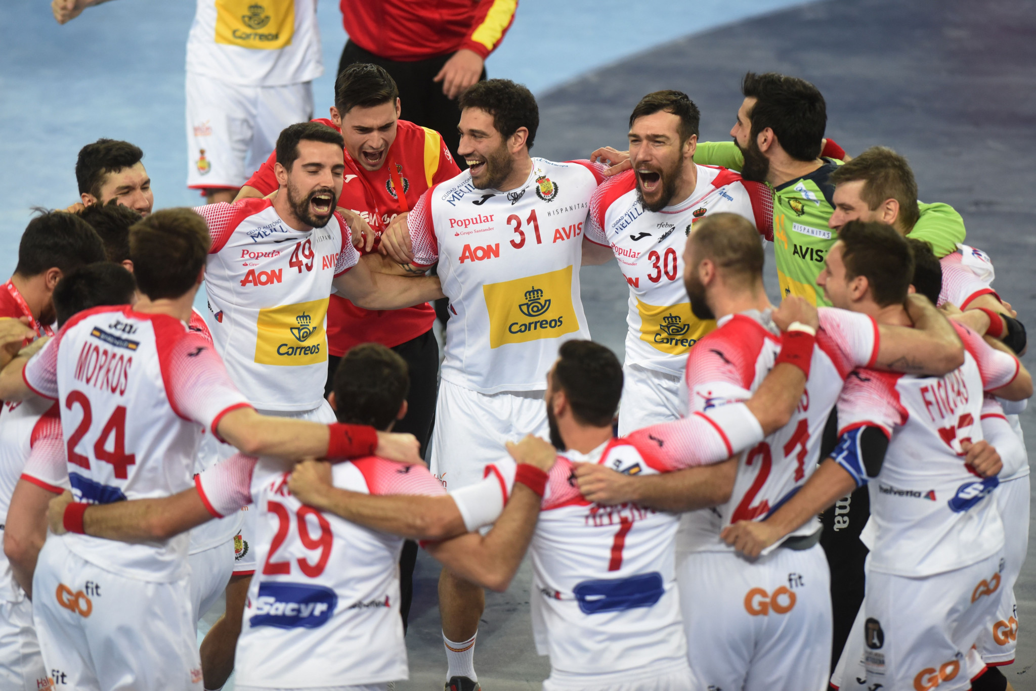 Spain and Sweden set-up European Men's Handball Championships final