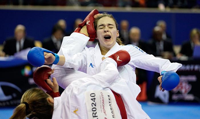 Recchia storms into final on home soil at WKF Karate1 Premier League in Paris