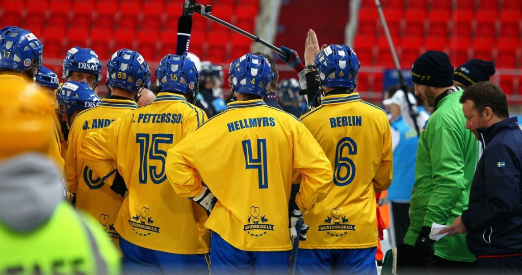 Sweden set to begin defence of Men's Bandy World Championship title