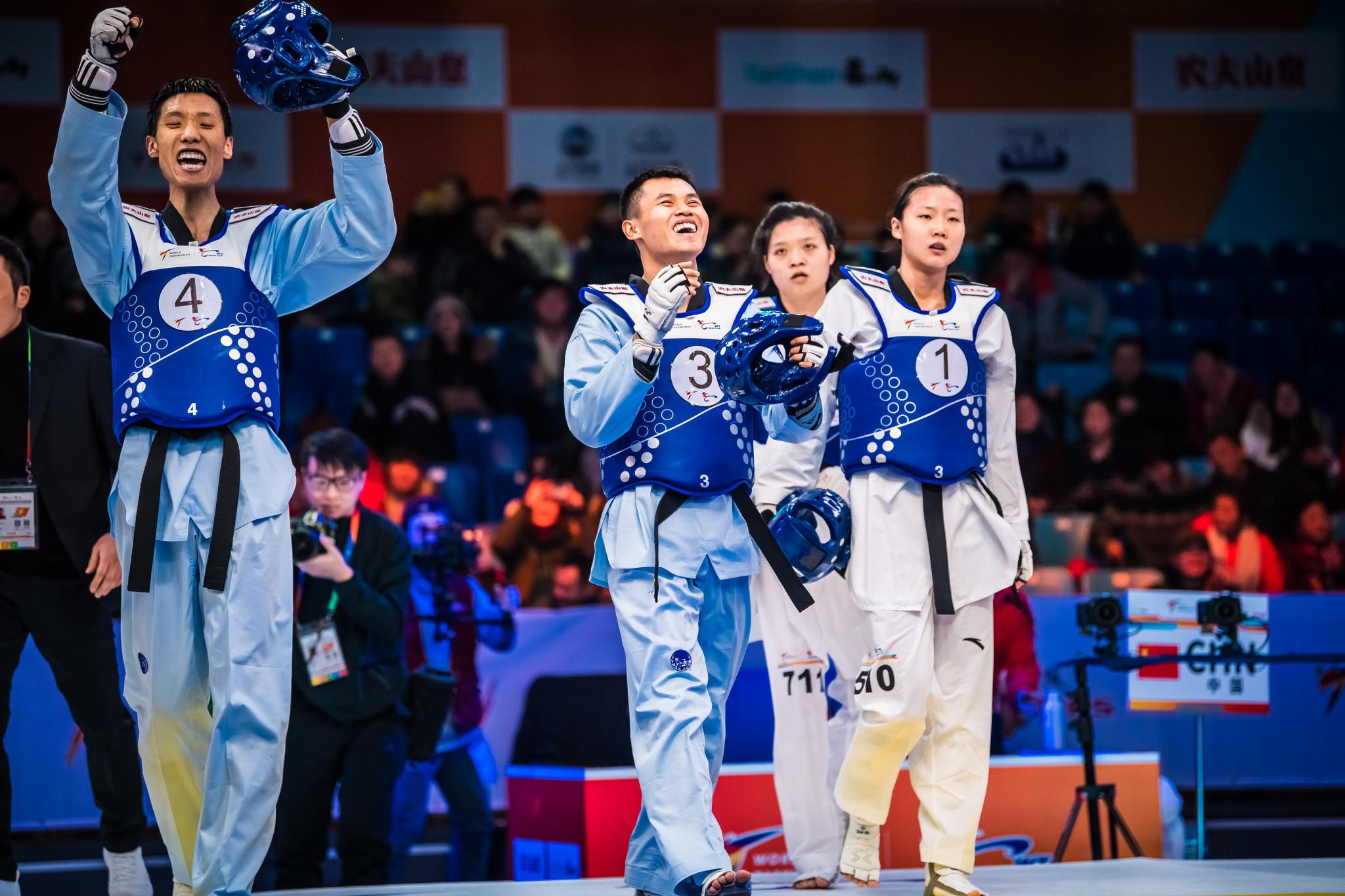 China snatch mixed gold with late head-kick at Taekwondo World Team Championships