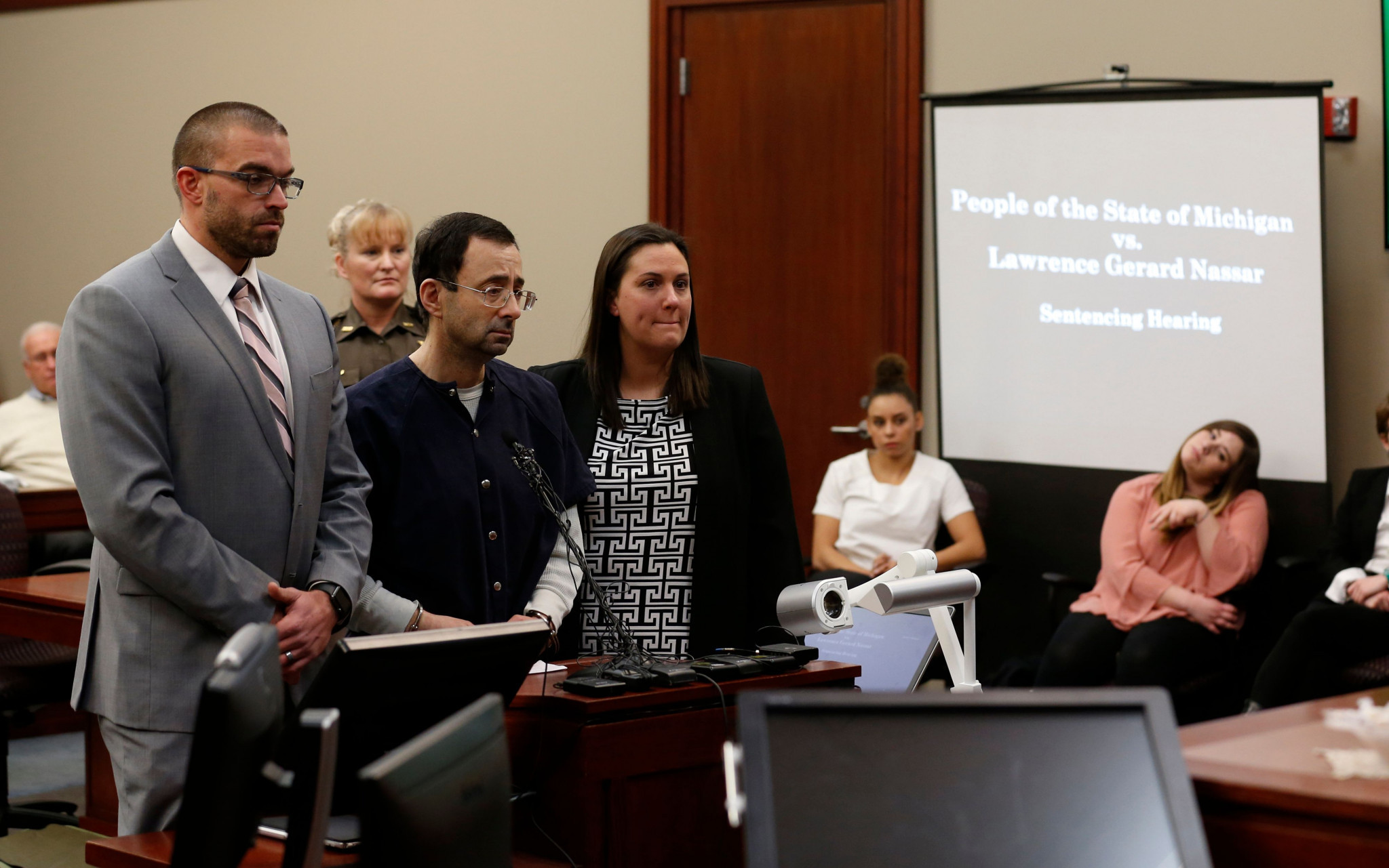 The USOC made the demands after Larry Nassar, the former USA Gymnastics team doctor, was jailed for 40 to 175 years ©Getty Images