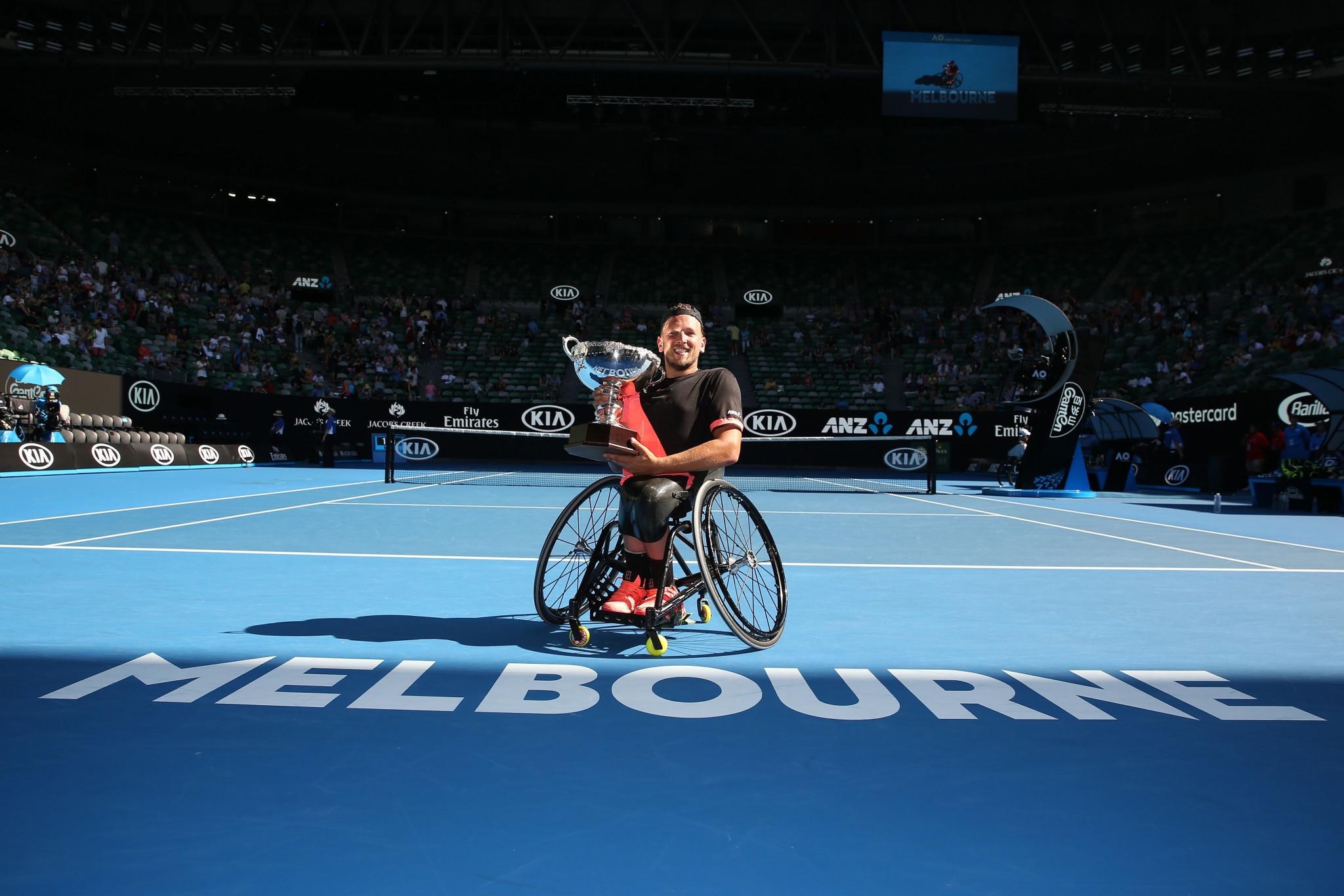 Alcott clinches fourth consecutive quad singles title at Australian Open