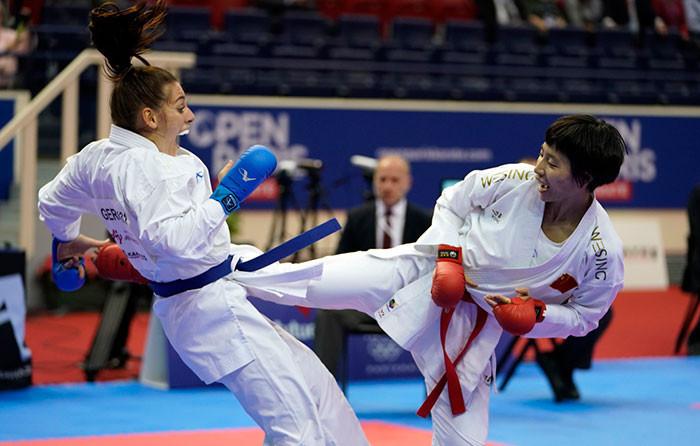 French teenager earns final against Grand Winner Yin in Karate1 Premier League Paris Open