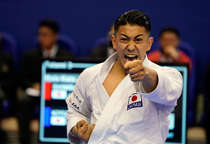Japan's Ryo Kiyuna is seeking a 14th consecutive victory in international competitions when he takes part in the kata finals tomorrow in the Karate1 Premier League Paris Open ©WKF