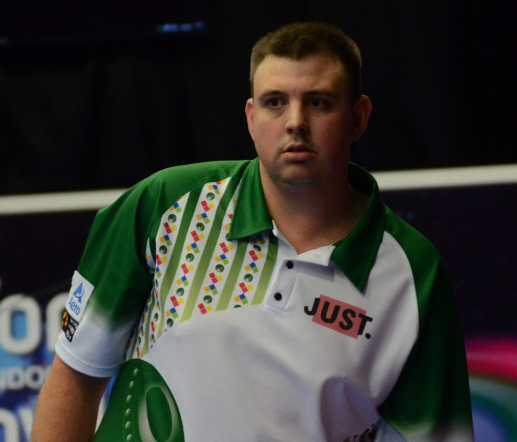 Wayne Willgress's progress at the World Indoor Bowls Championships was ended in the semi-finals by Robert Paxton ©WorldBowlsTour