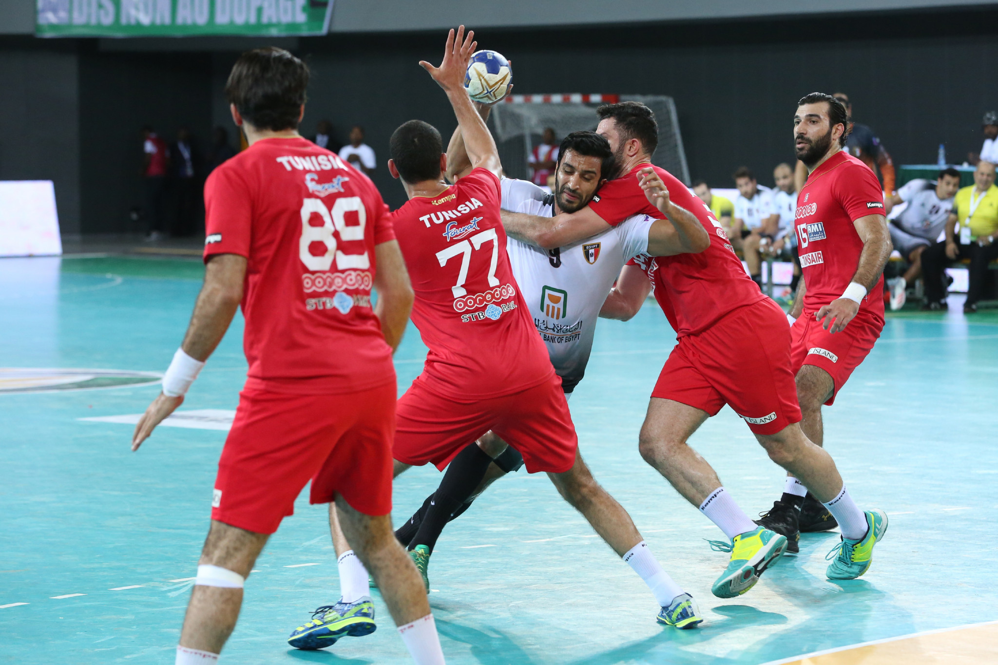 Tunisia earn revenge win over Egypt to take gold in African Men's Handball Championships