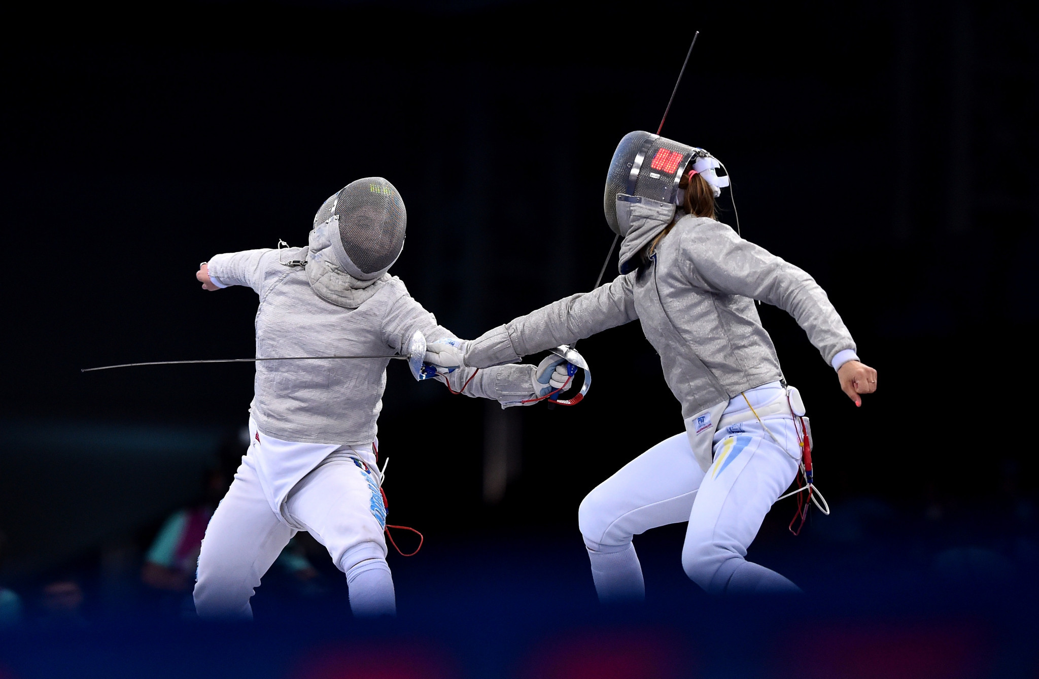 Martina Criscio sealed the individual honours at the women's Sabre World Cup in Baltimore ©Getty Images