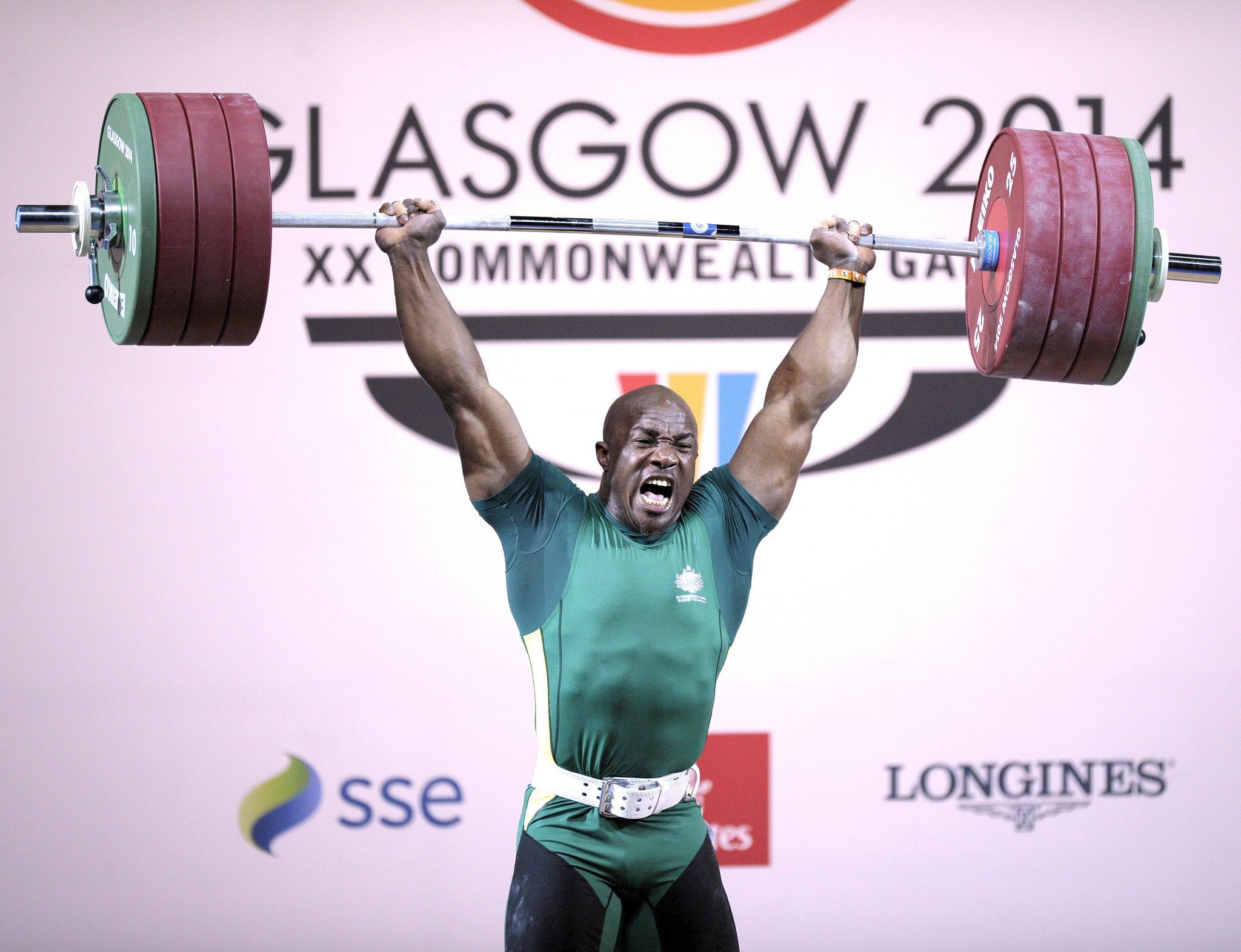 Simplice Ribouem, who used to compete for Cameroon before switching to Australia, is set to make his fourth Commonwealth Games appearance at Gold Coast 2018 ©Getty Images