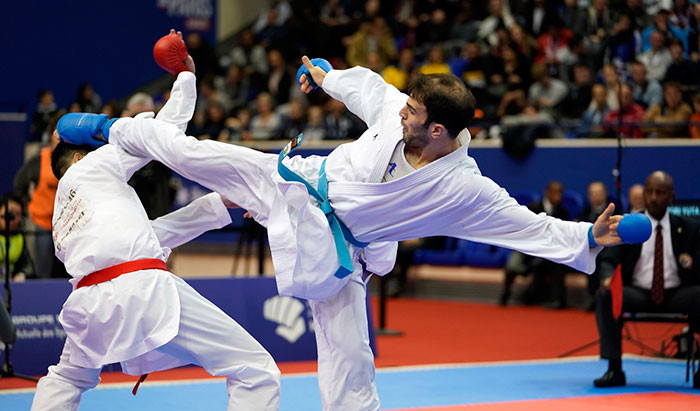 Japan and hosts France dominated the Karate1 Premier League Paris Open ©WKF