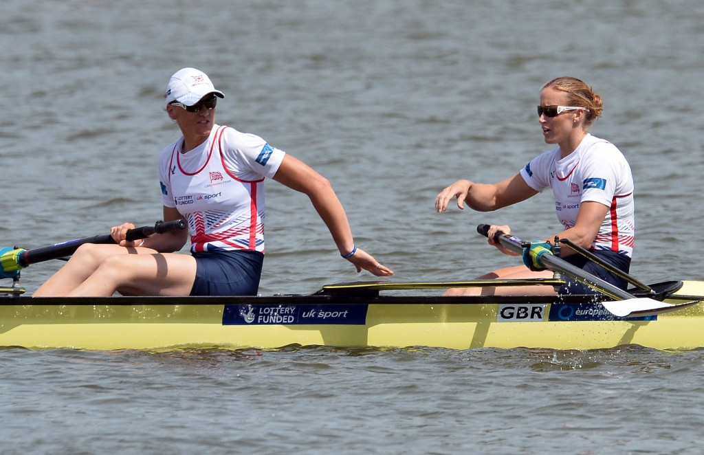 Olympic, world and European champions Helen Glover and Heather Stanning are two of the leading British names in their squad for the event