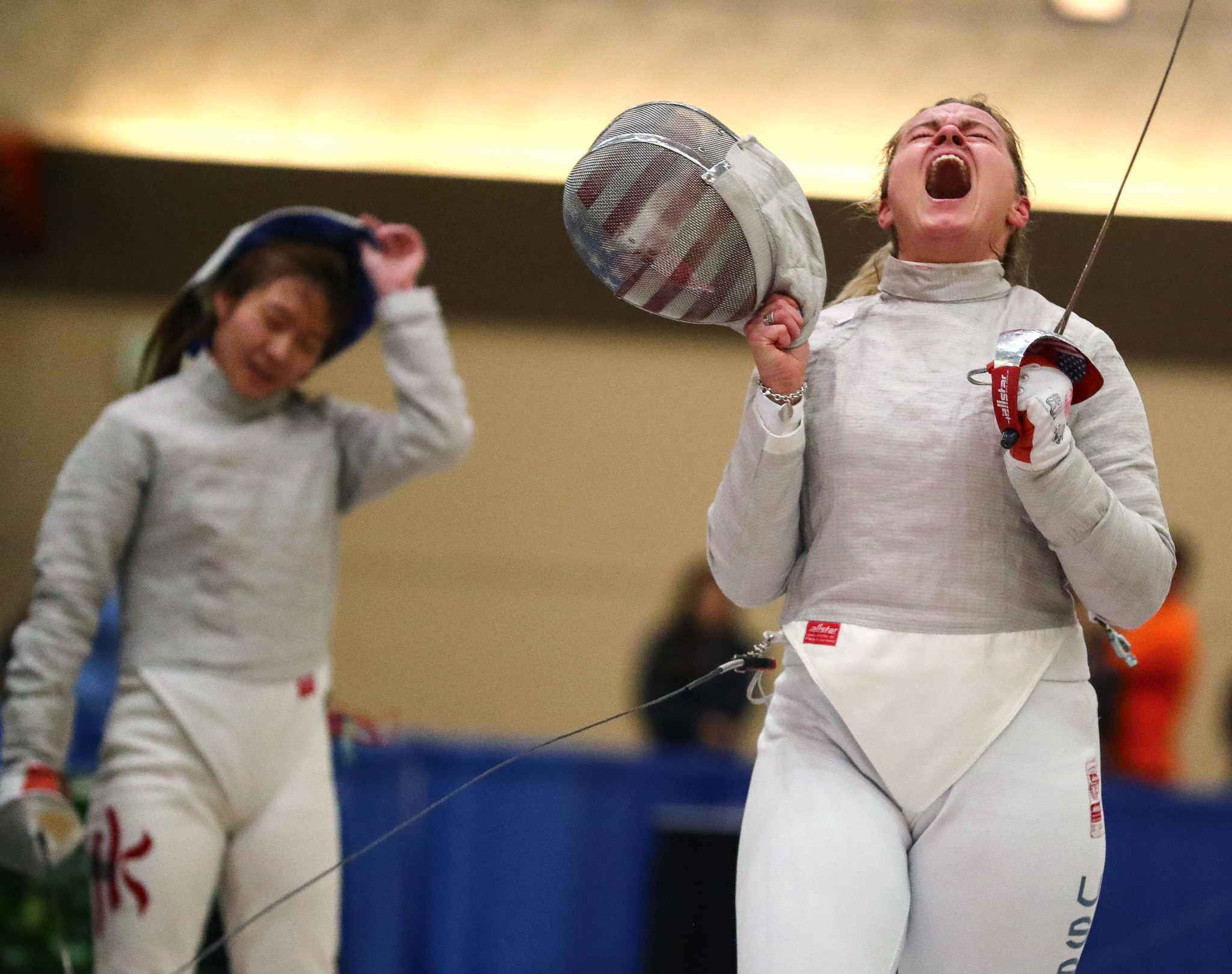 Dagmara Wozniak had a profitable weekend at the Baltimore Sabre World Cup where she finished fifth in the individual competition and helped the home side to finish fifth in the team event ©Getty Images
