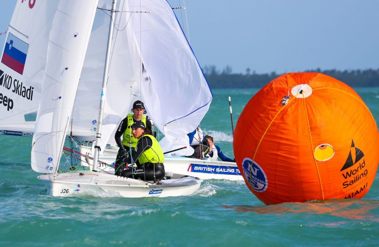 The Miami World Cup provided dramatic switches in position on the final day of racing across five classes ©World Sailing