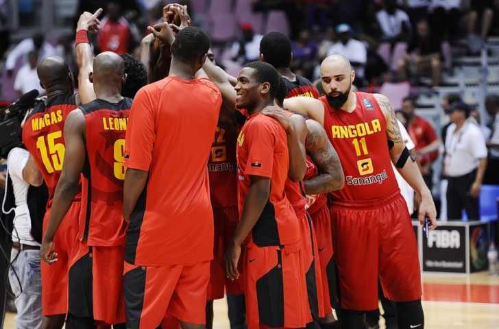 Reigning champions Angola booked their Afrobasket Championships semi-final place with a comfortable win over Egypt ©FIBA