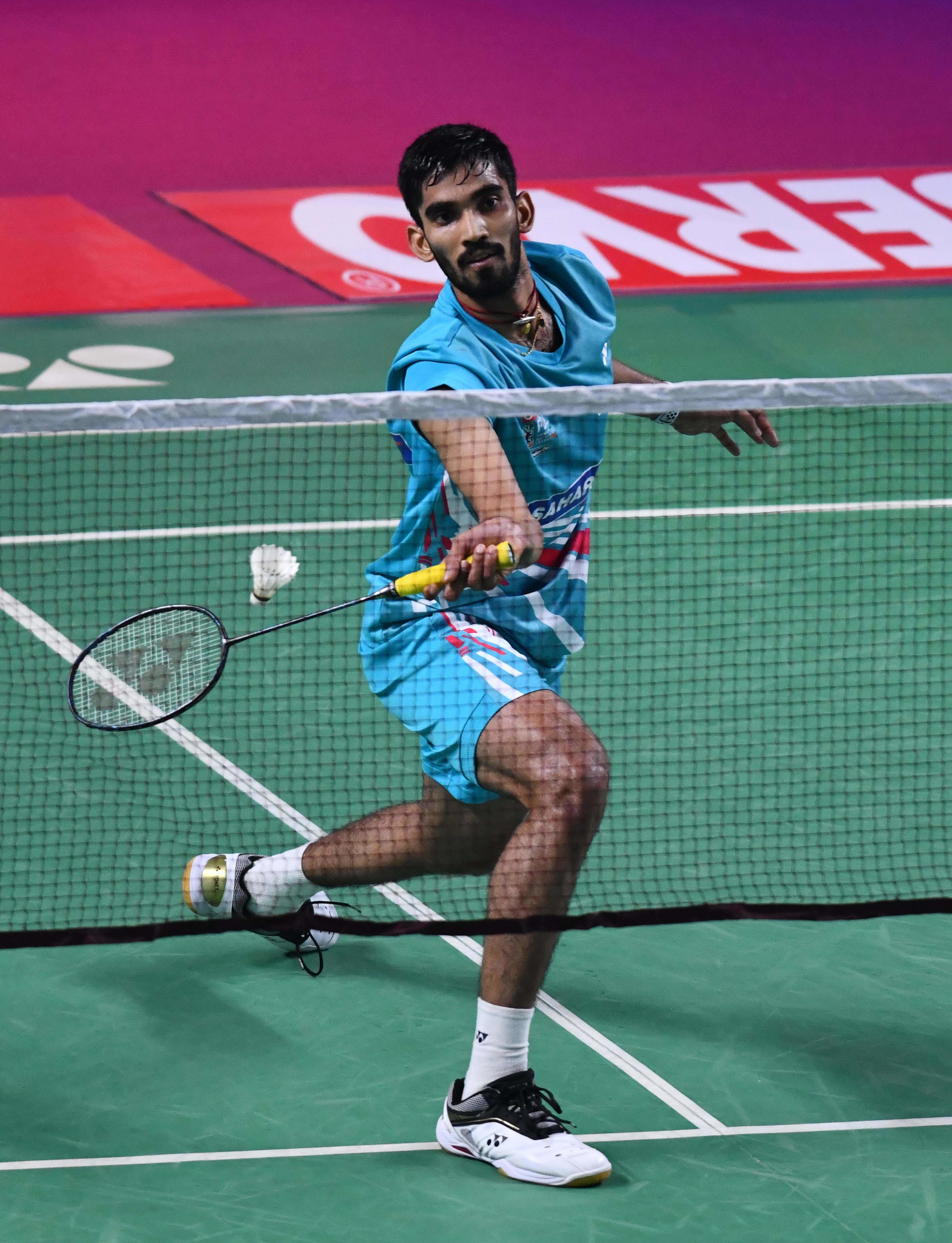 Srikanth Kidambi carries home Indian hopes in the men's tournament ©Getty Images