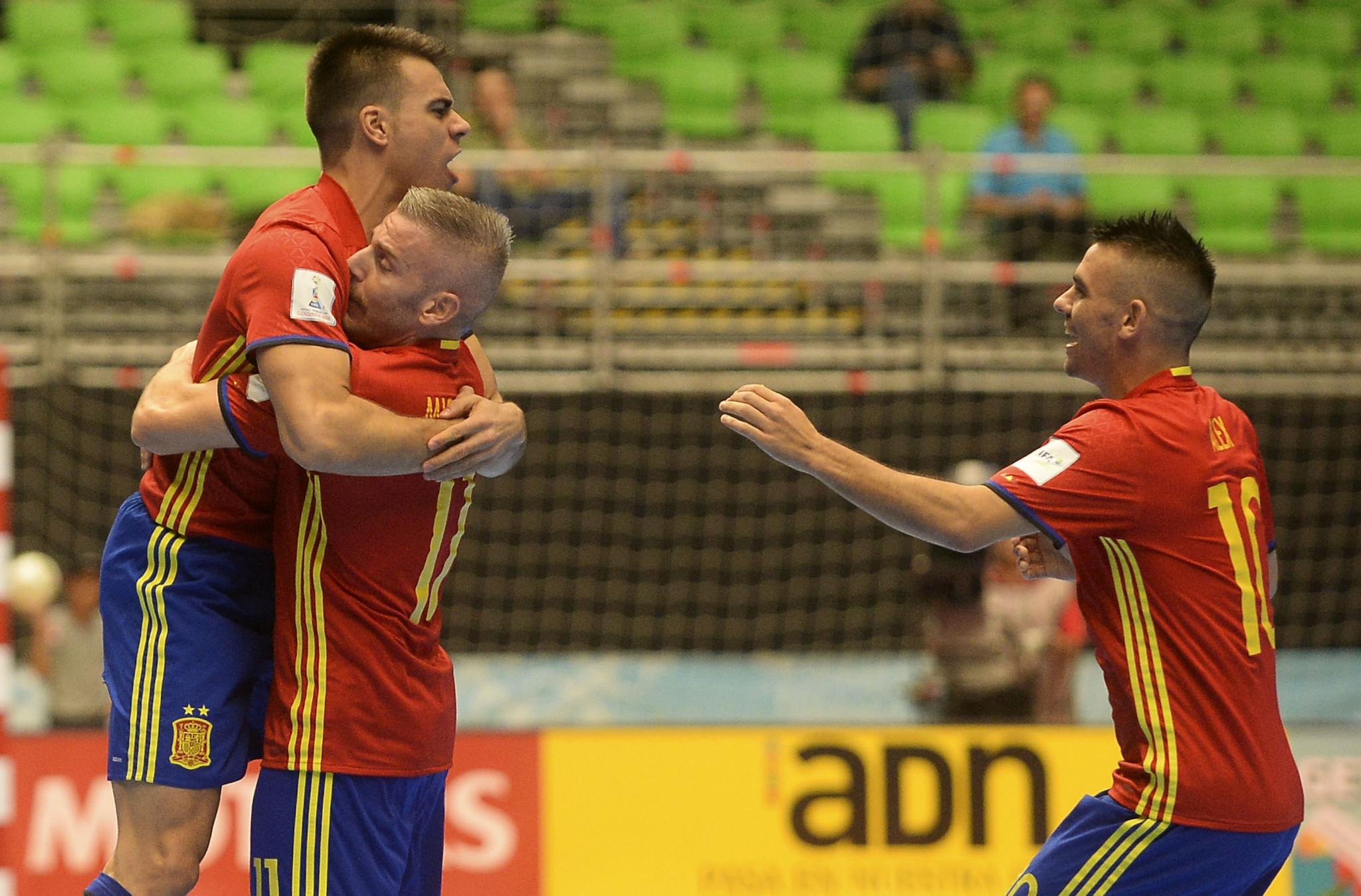 Holders Spain seek to maintain dominance at UEFA Futsal Championship