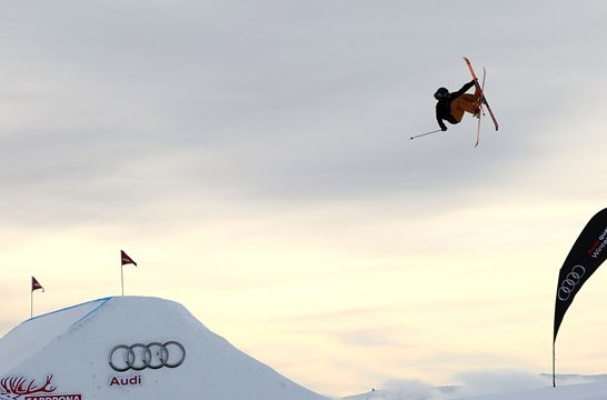 James Woods and Tiril Sjaastad Christiansen on top in season opening slopestyle skiing World Cup