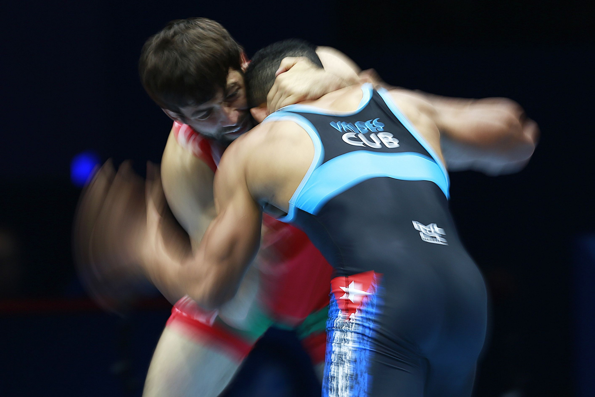 Cuban wrestling has been boosted by the UWW assistance programme ©Getty Images
