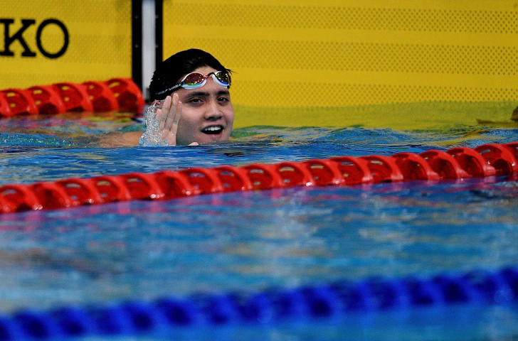 Joseph Schooling won Singapore's first swimming medal at the Commonwealth Games in Glasgow four years ago - but he will be unavailable for this year's Gold Coast Games in Australia ©Getty Images
