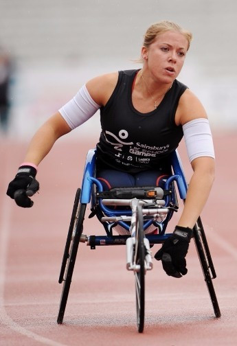 Double Paralympic champion Hannah Cockroft to compete at 2015 Sainsbury's School Games