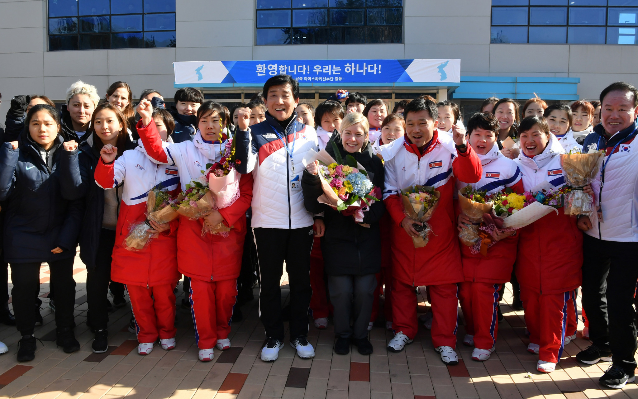 North Korea's Olympic athletes likely to use South Korean chartered flight to reach Pyeongchang 2018