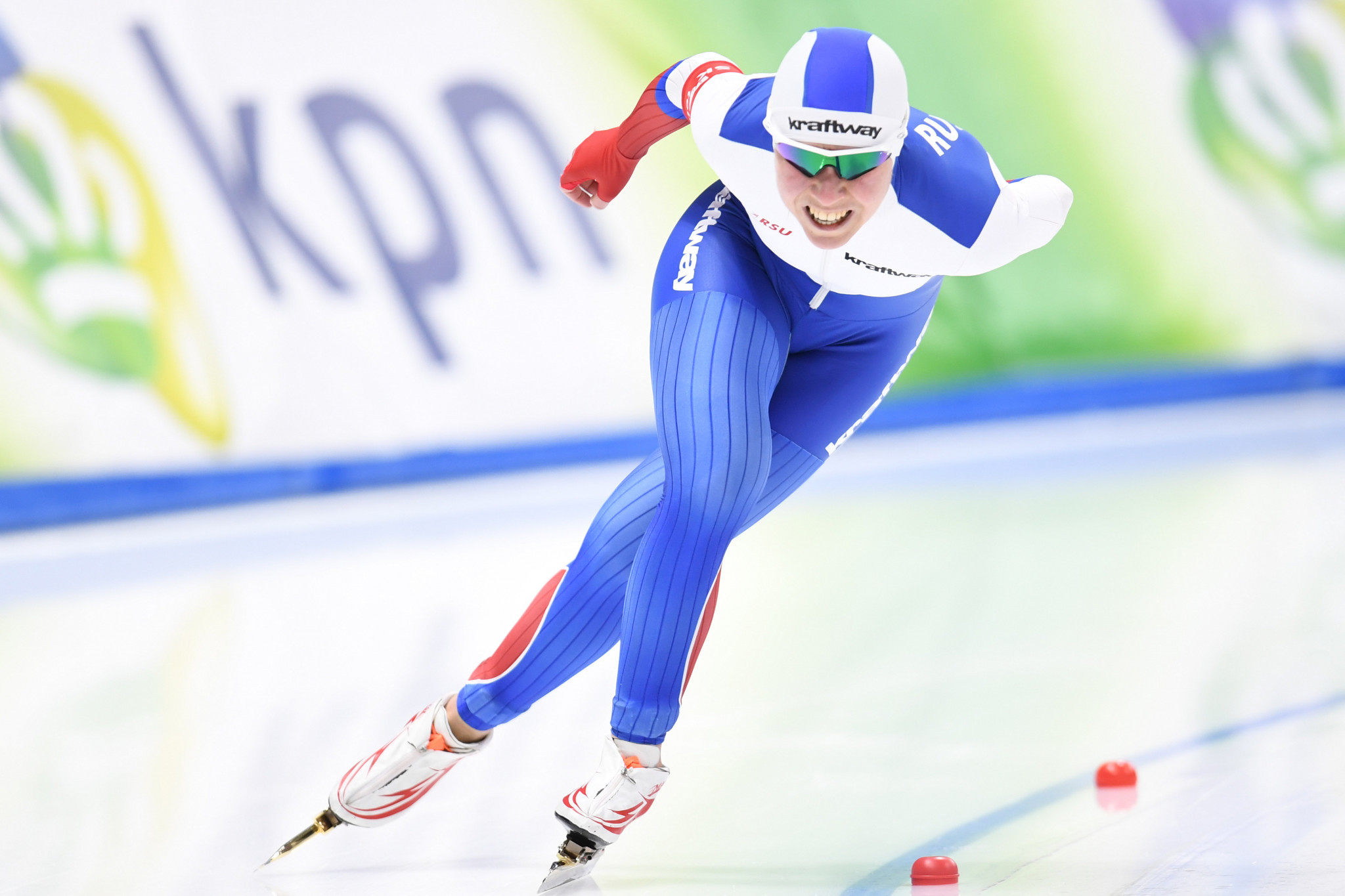 Speed skater Olga Graf has become the first Russian athlete cleared to compete at next month's Winter Olympic Games in Pyeongchang to turn down an invitation ©Getty Images