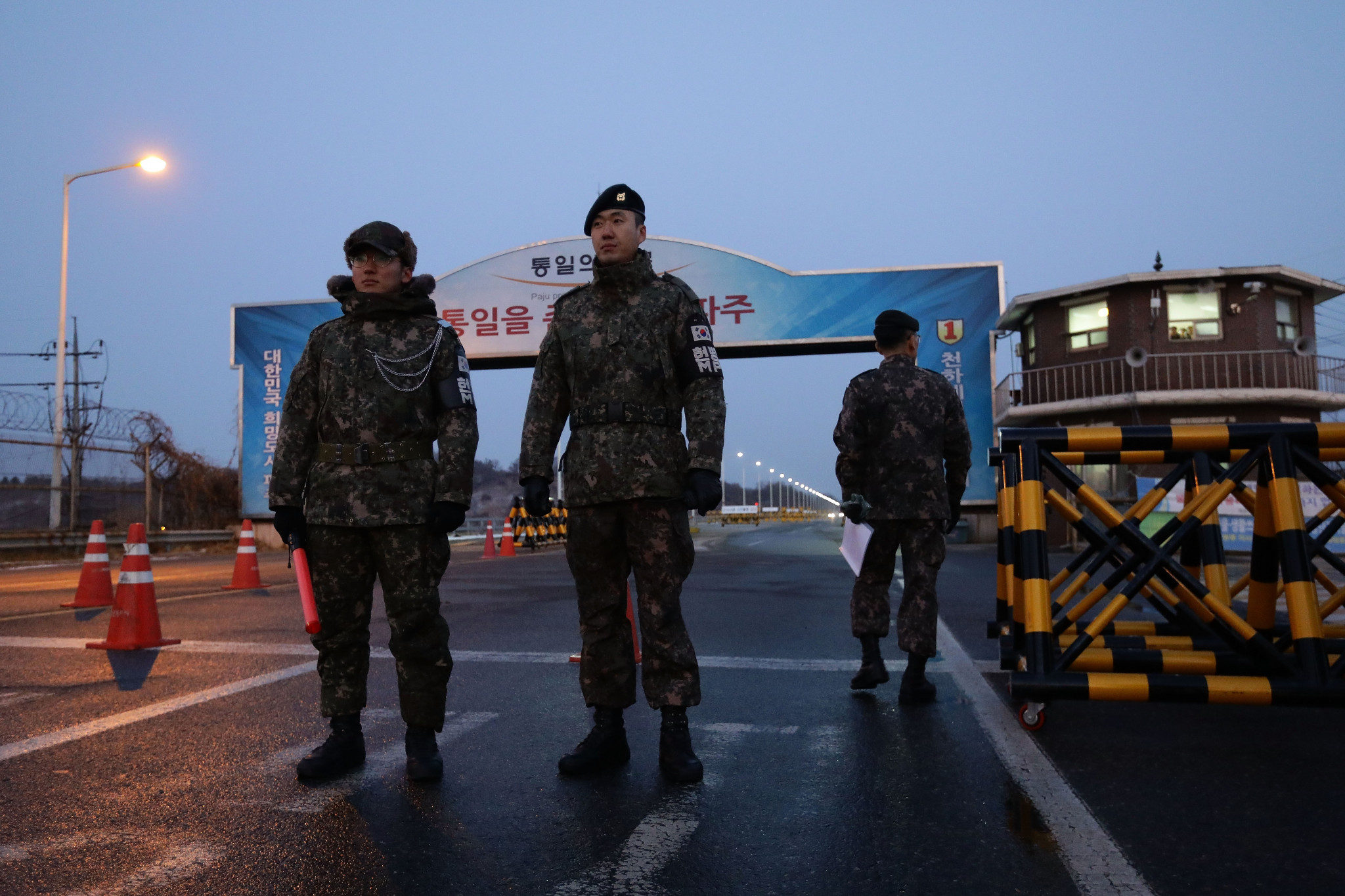 A South Korean solider working on transportation operations for the upcoming Pyeongchang 2018 Winter Olympics has died after slipping while taking a shower ©Getty Images