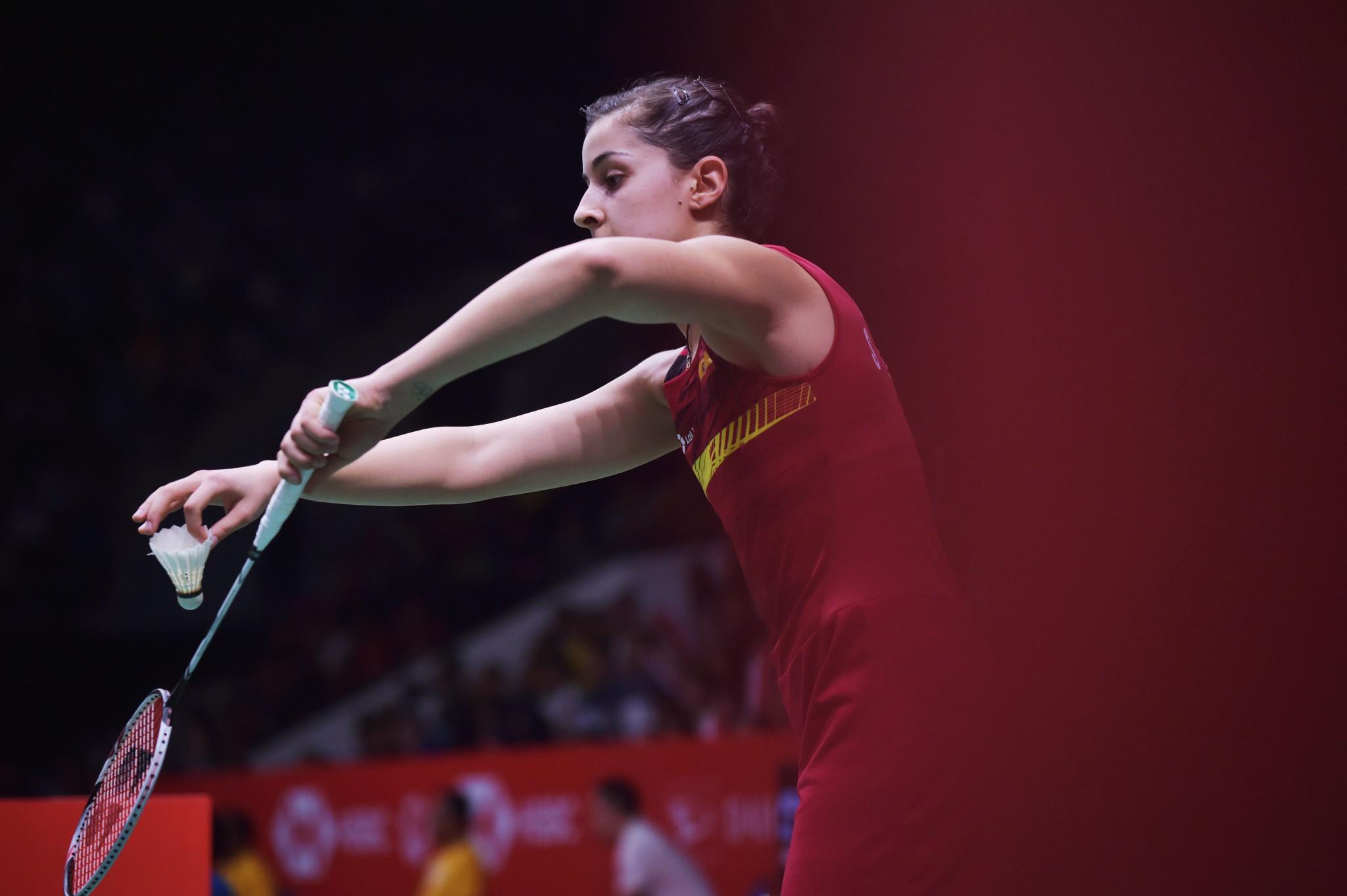 Carolina Marín, pictured, will face qualifier Mattana Hemrachatanun ©Getty Images