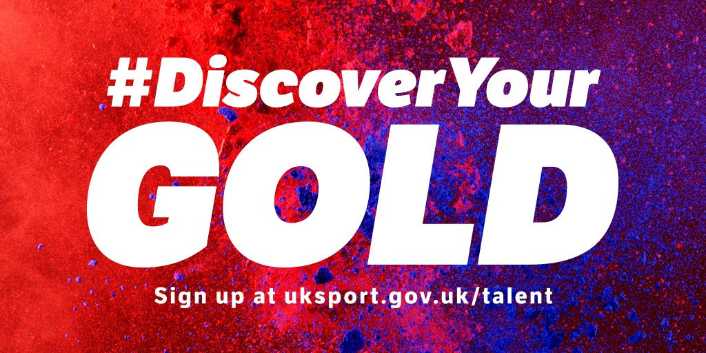 The #DiscoverYourGold campaign was initially launched in 2016 ©UK Sport
