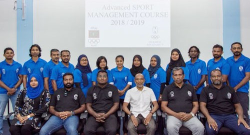 Maldives Olympic Committee launch advanced sports management course