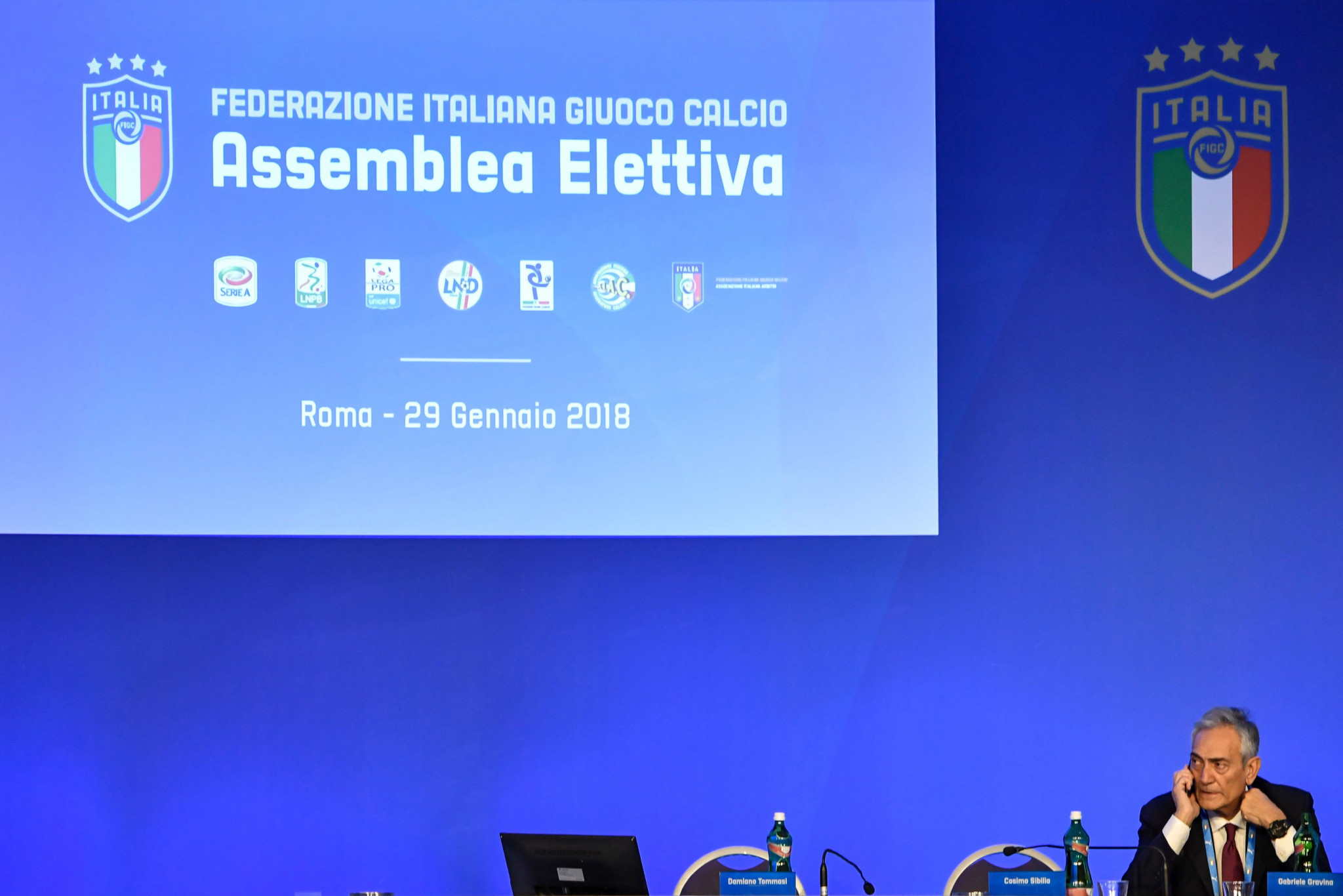 Italian Football Federation fails to elect new President during farcical meeting
